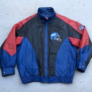 "Vintage Leather Pro Player Jacket ""Giants"""